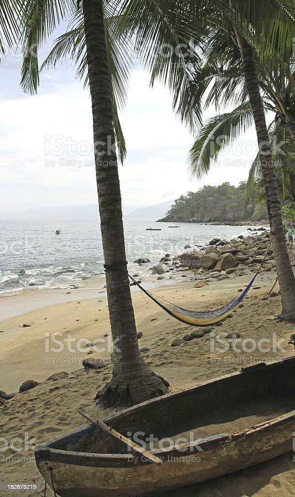 Beach of Relaxation royalty-free stock photo