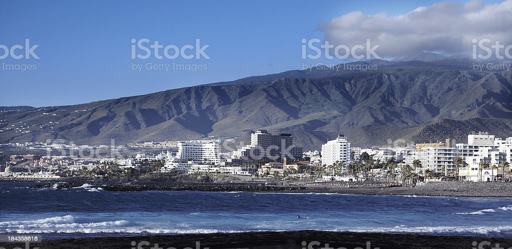 Playa De Las Americas stock photo