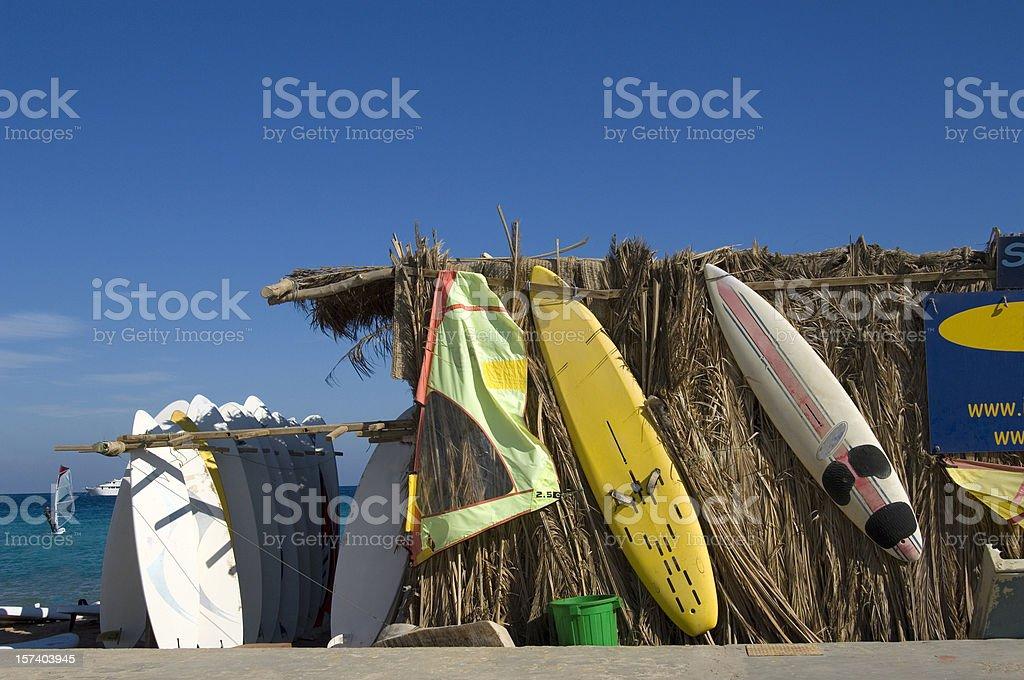 Beach Of The Sport stock photo
