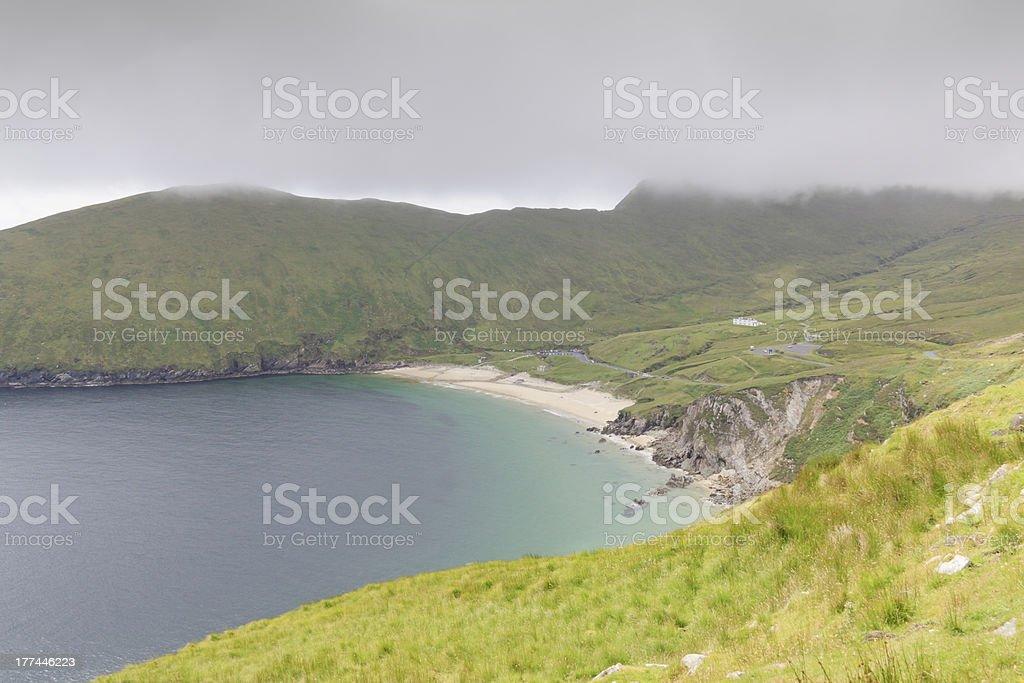 Beach on Achill Island. stock photo