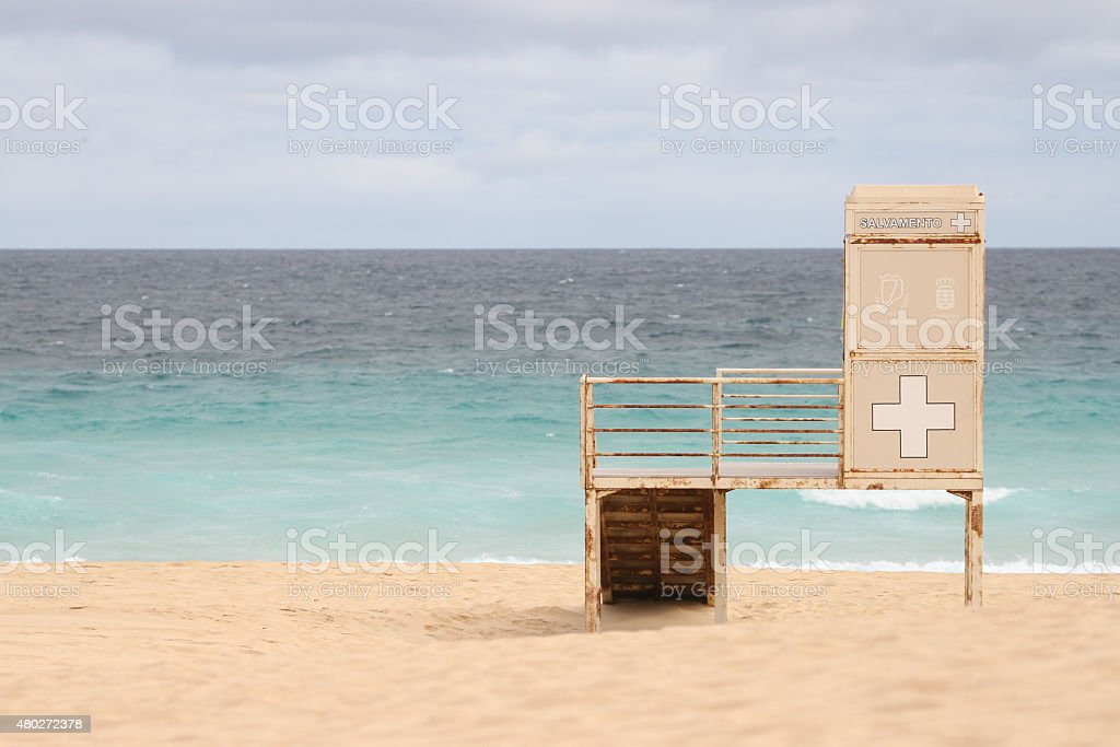 Beach on Fuerteventura royalty-free stock photo