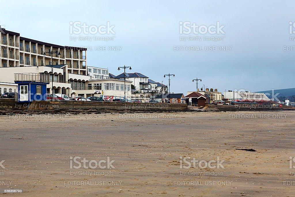 Spiaggia sull'Isola di Wight foto stock royalty-free