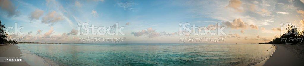 Beach Panorama royalty-free stock photo