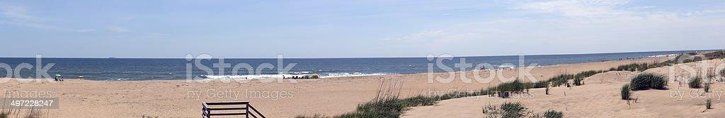 Beach Panorama stock photo
