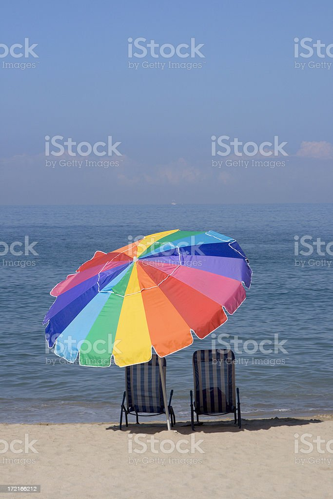 Beach Paradise Vt royalty-free stock photo