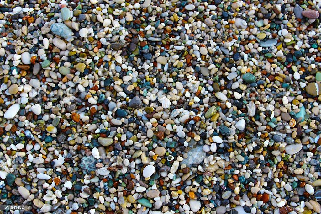Пляж Галька Стоковые фото Стоковая фотография