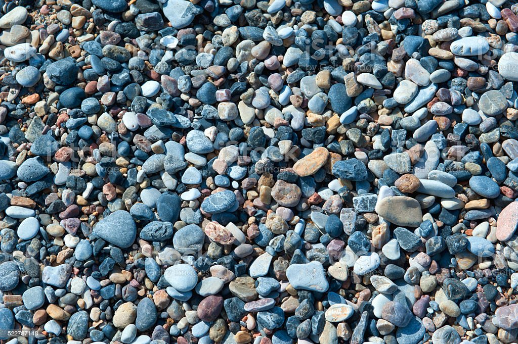 Beach Pebbles stock photo