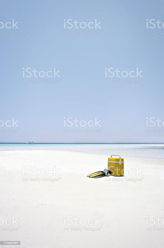 Beach Picnic royalty-free stock photo
