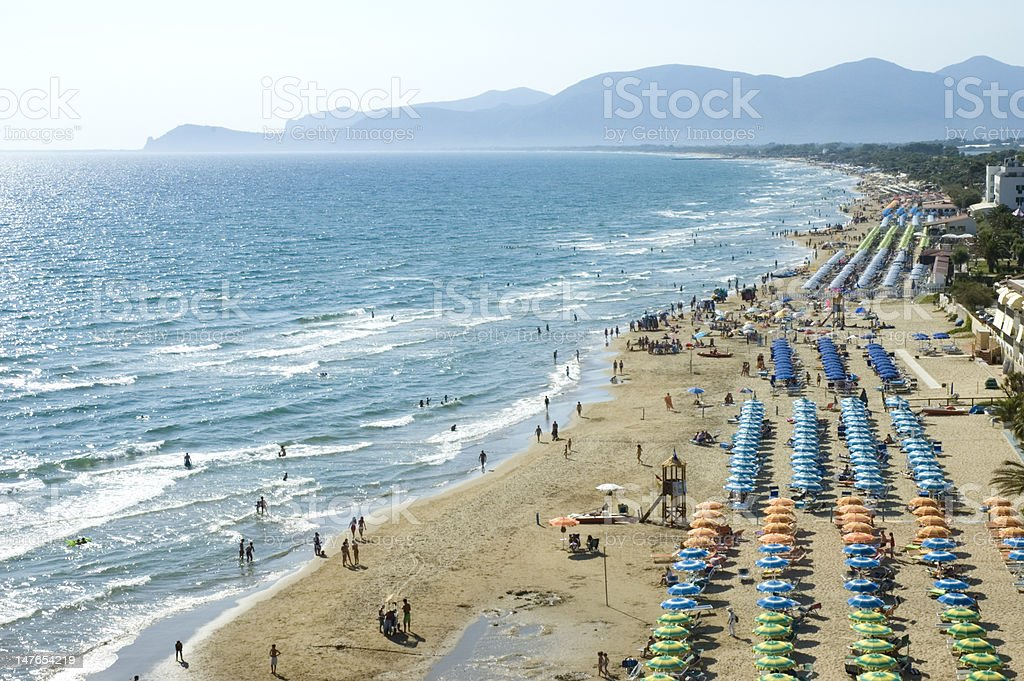 Spiaggia stock photo