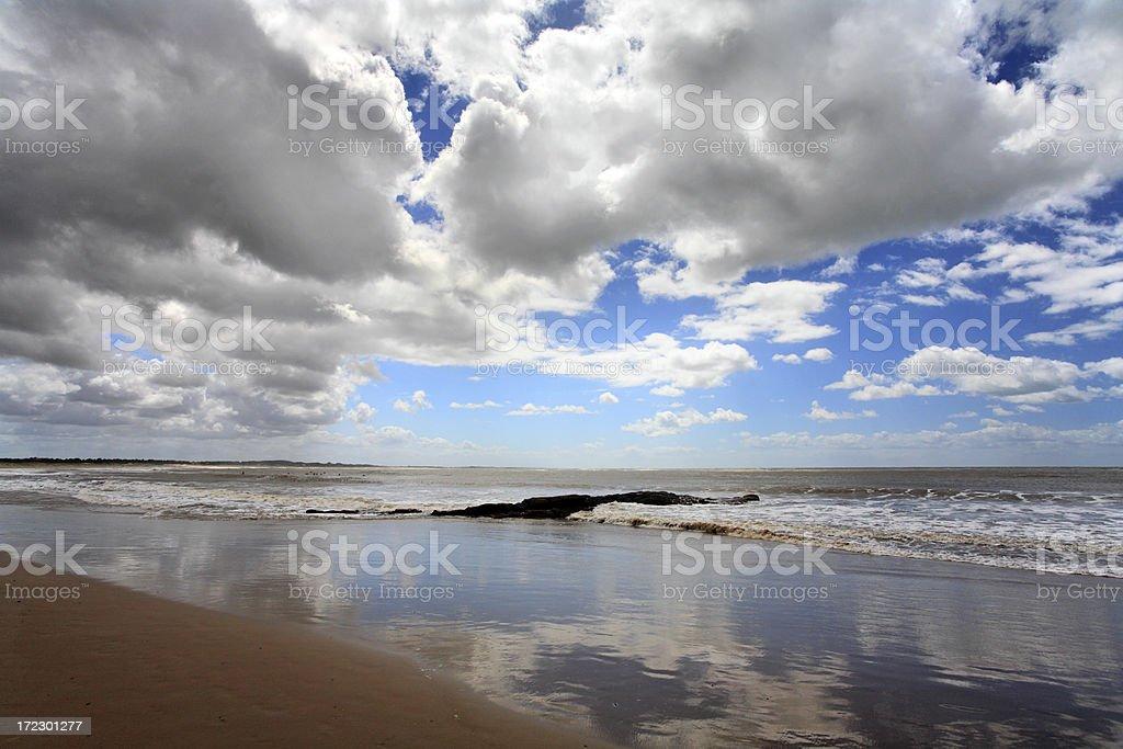 Beach (Jose Inacio -  Punta Del Este) royalty-free stock photo