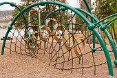 Beach playground structures