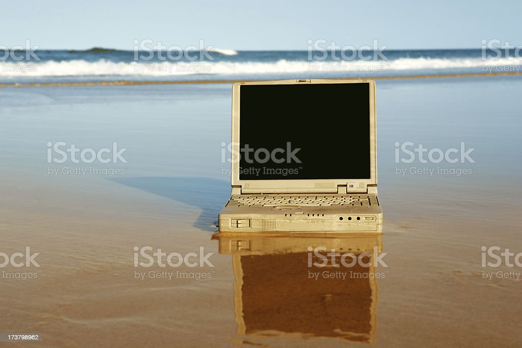 Beach Presentation royalty-free stock photo