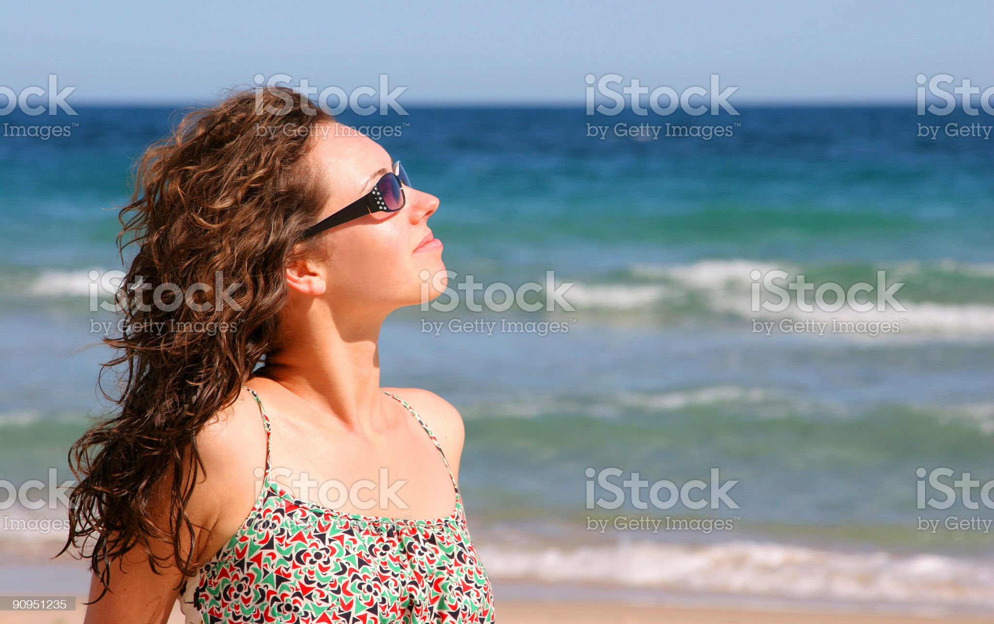 Beach Relaxation royalty-free stock photo