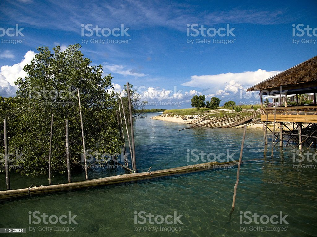 Beach Resort stock photo