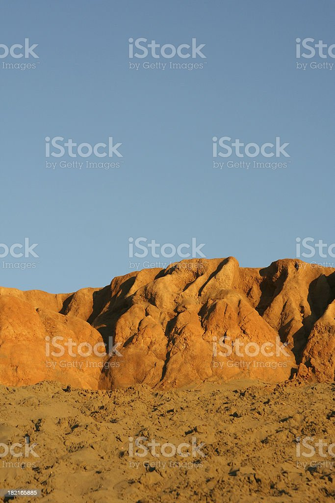 'Beach, Rock and Sky' stock photo