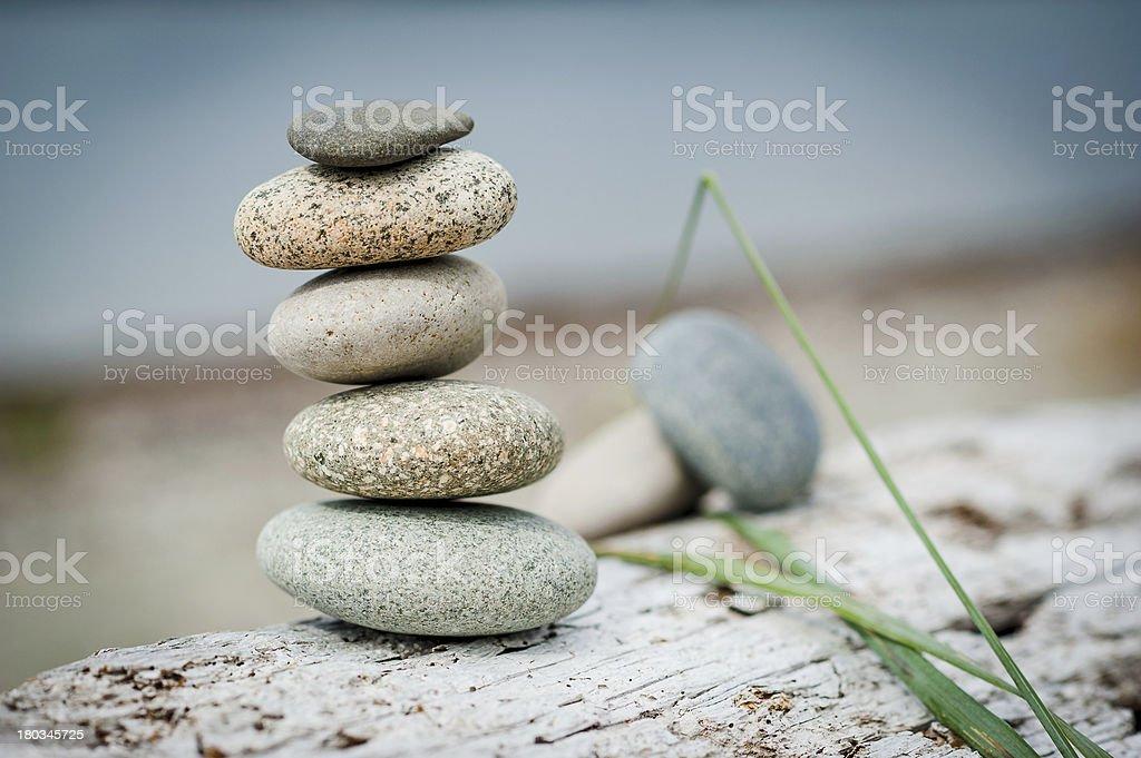 Beach Rocks royalty-free stock photo