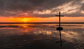 Beach Salvation Cross