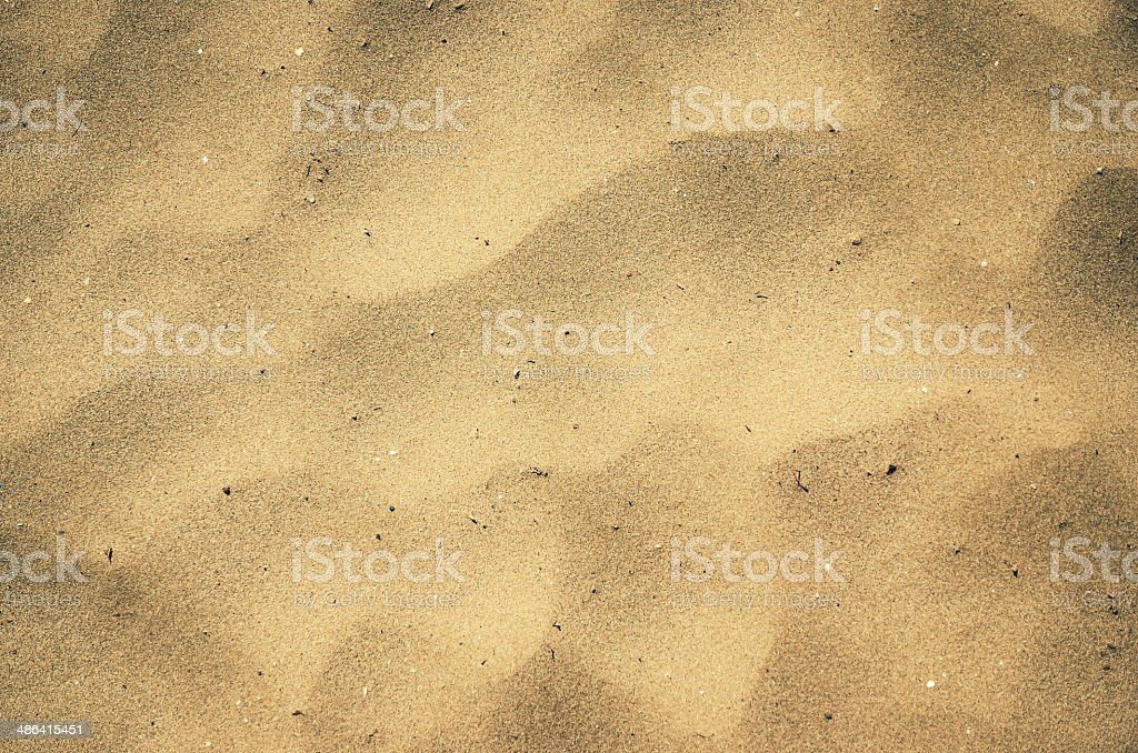 Beach Sand Close Up for Wallpaper or Background royalty-free stock photo