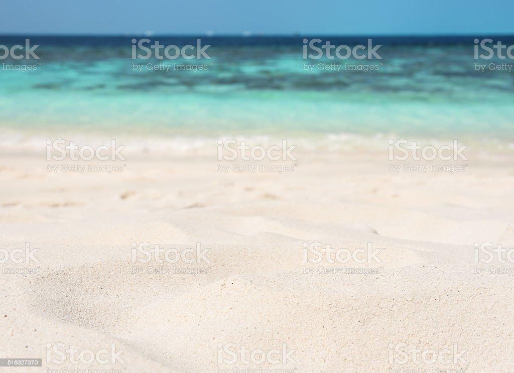 Beach sand dune stock photo