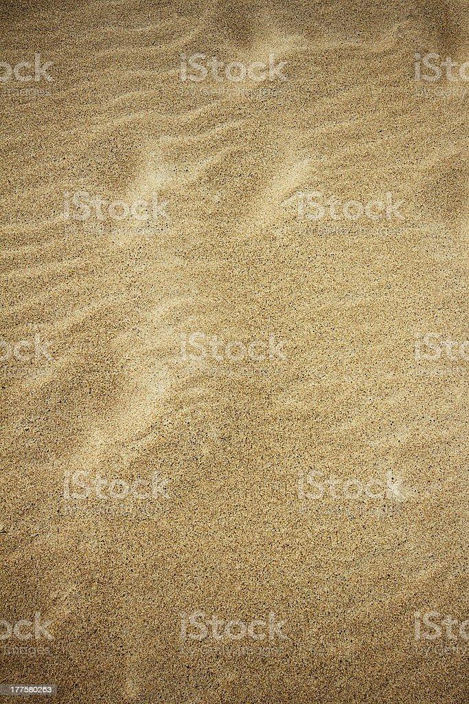 Beach sand texture royalty-free stock photo