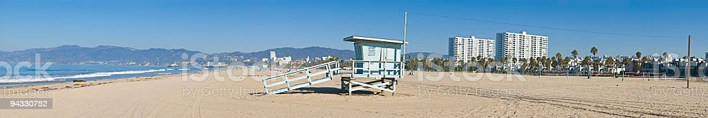 Beach, Santa Monica, Venice, LA royalty-free stock photo