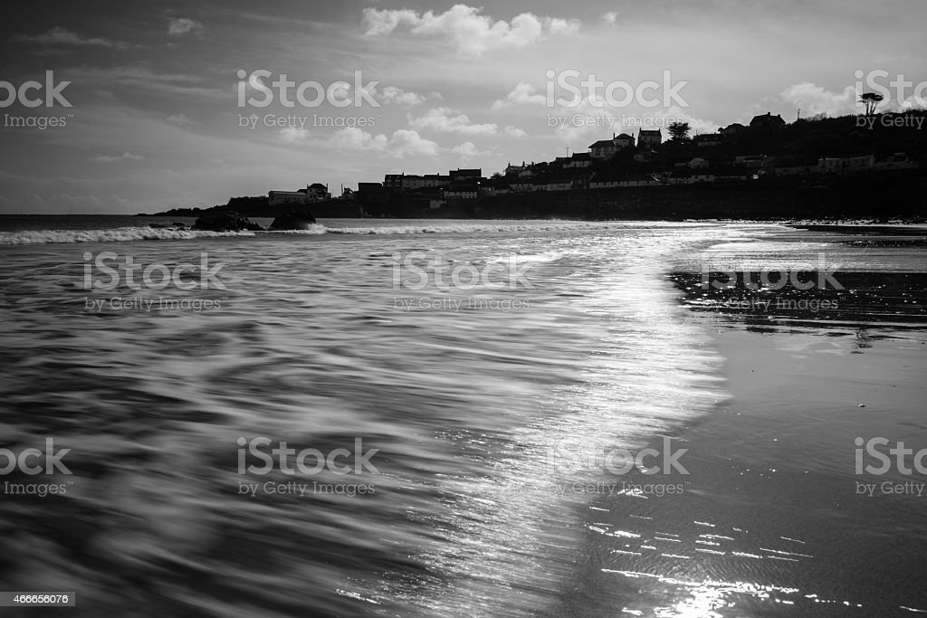 Beach scene. stock photo