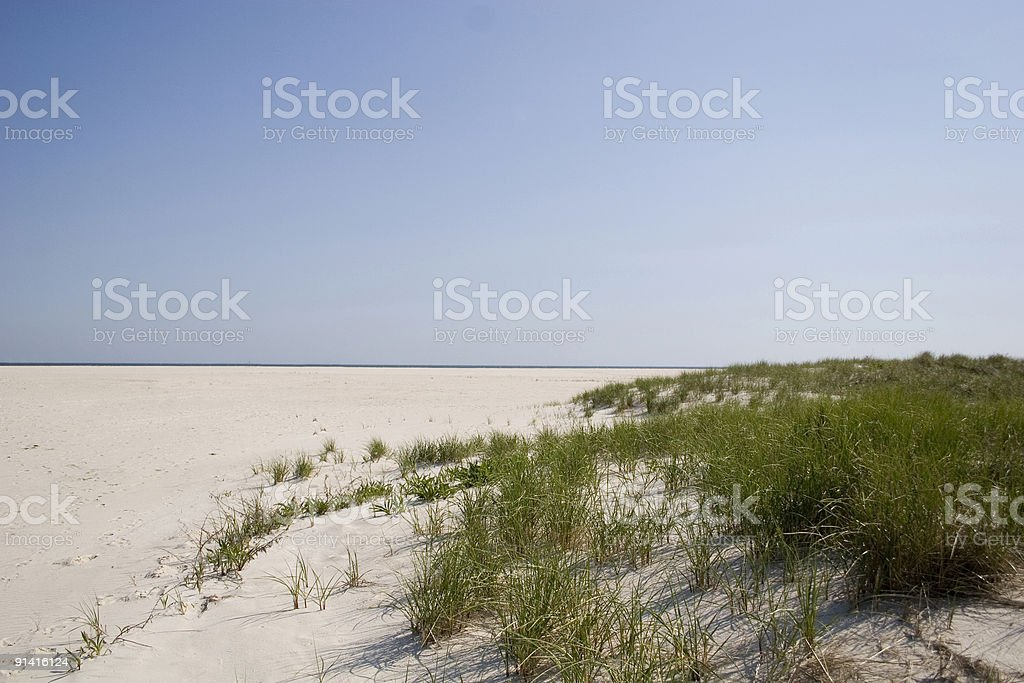 beach scene.. royalty-free stock photo