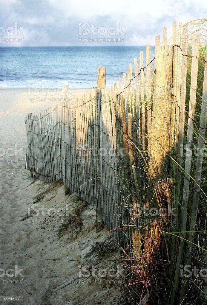 Beach Scenery royalty-free stock photo