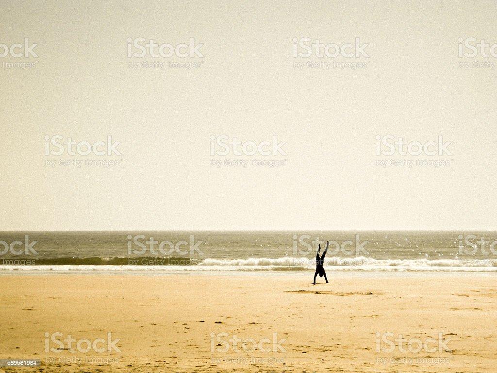 Beach Scenes Series 5 - Color stock photo