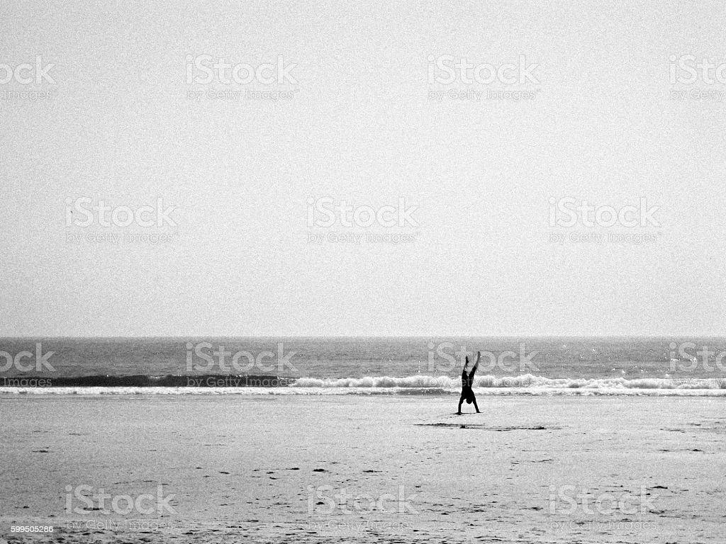 Beach Scenes Series 5 stock photo