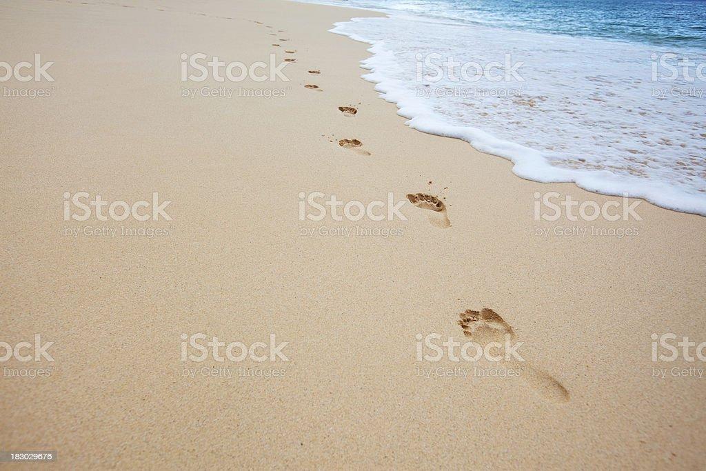 Beach Scenic stock photo