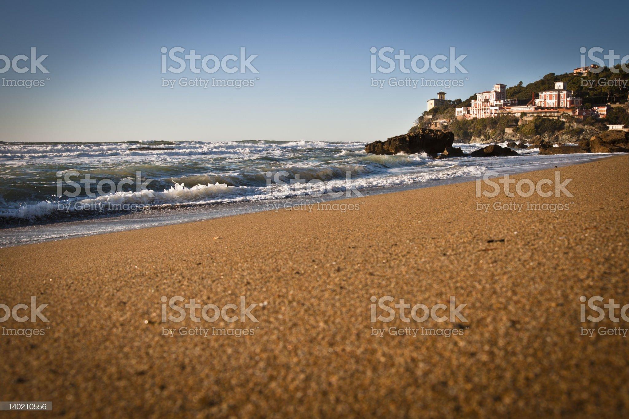 beach & sea royalty-free stock photo