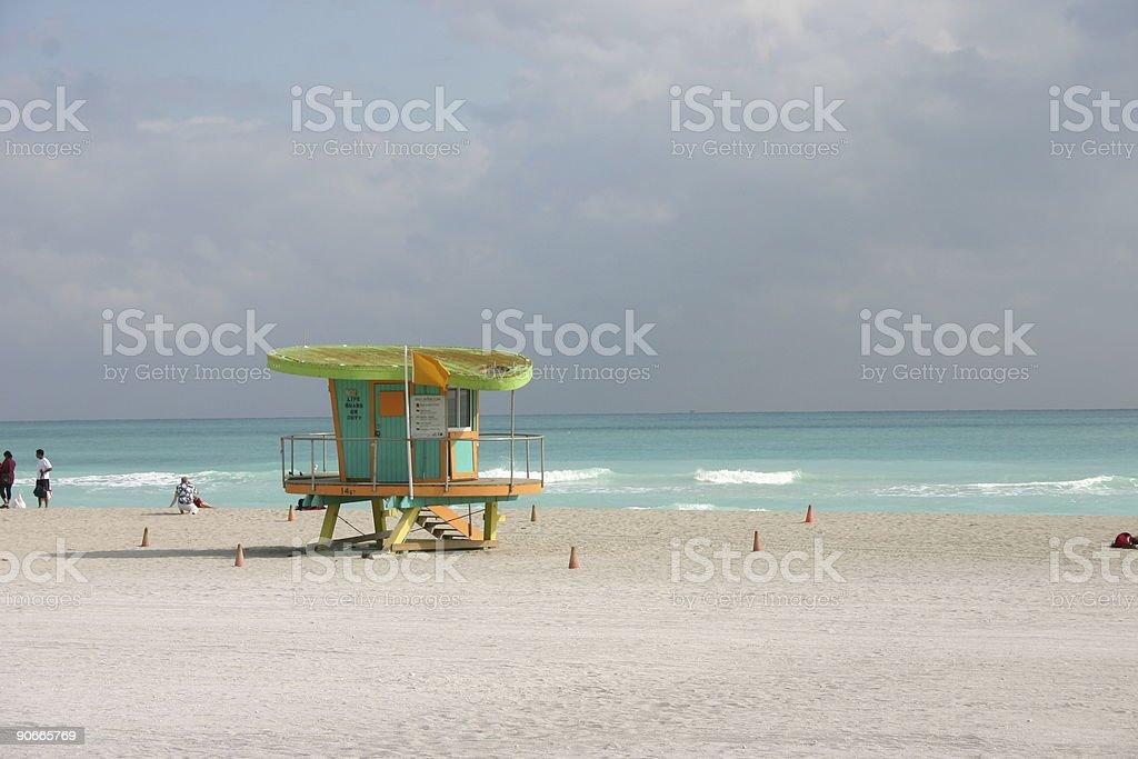 beach shack royalty-free stock photo