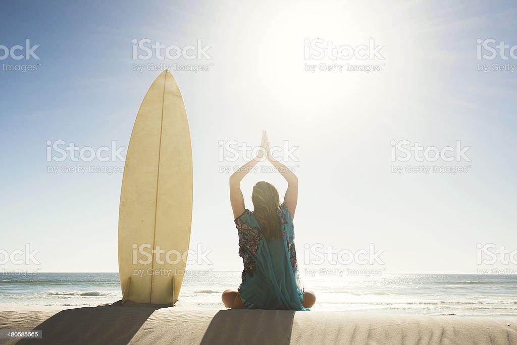 Beach Side Of Life stock photo