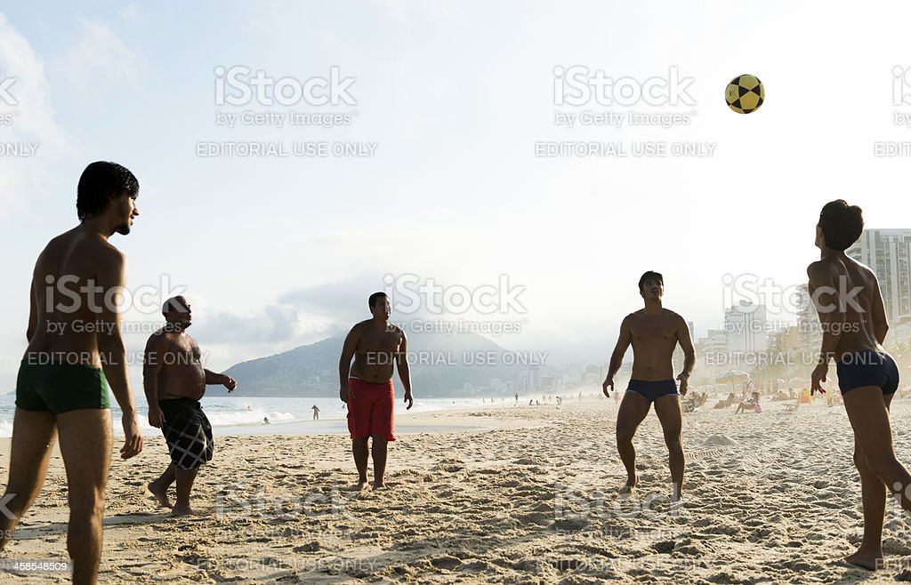 Beach Soccer stock photo