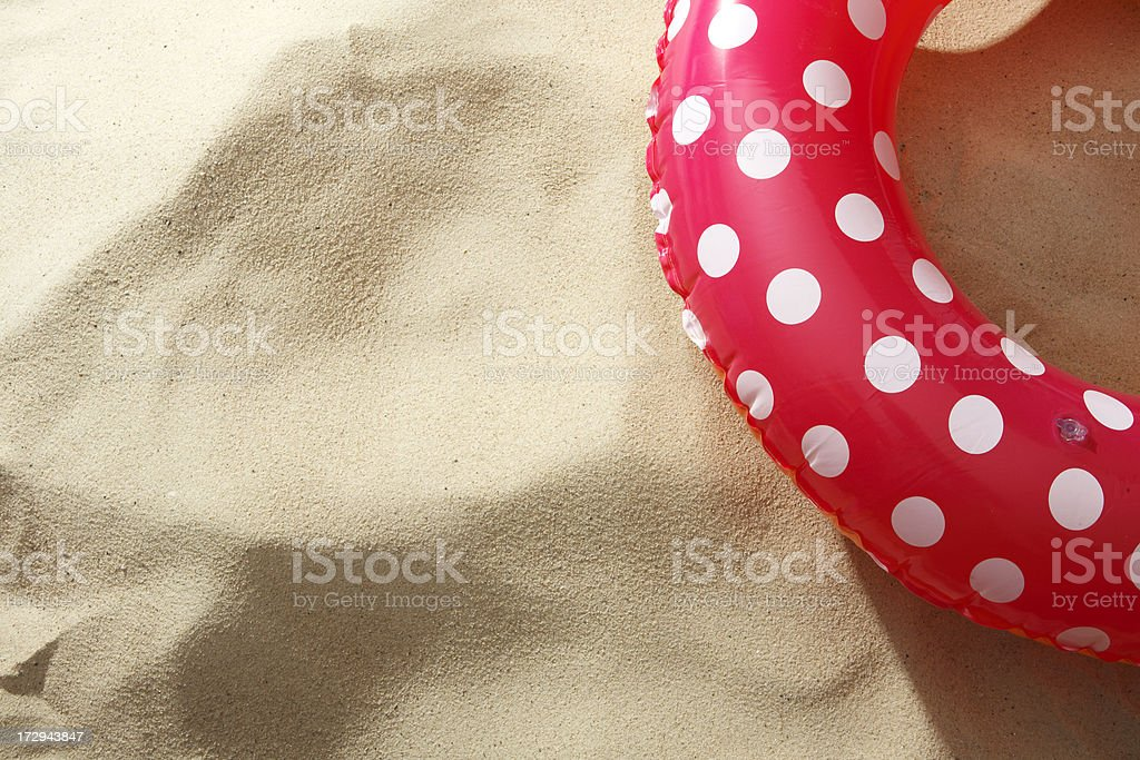 Beach Stills: Inflatable Ring royalty-free stock photo