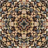Beach Stone Mandala