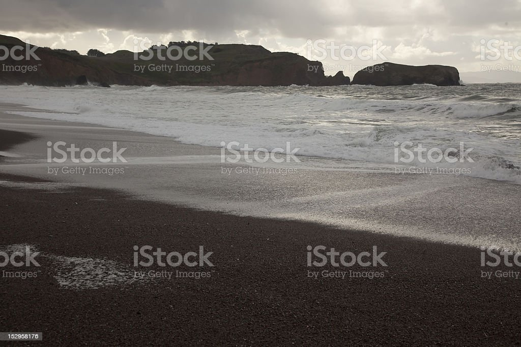 Beach Storm royalty-free stock photo