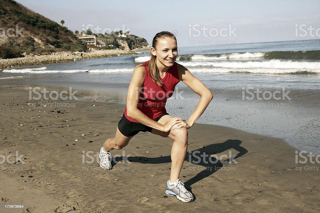Beach Stretch royalty-free stock photo