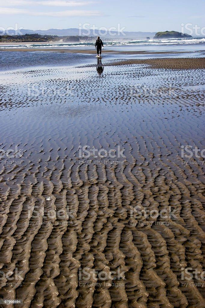 Beach Stroll stock photo