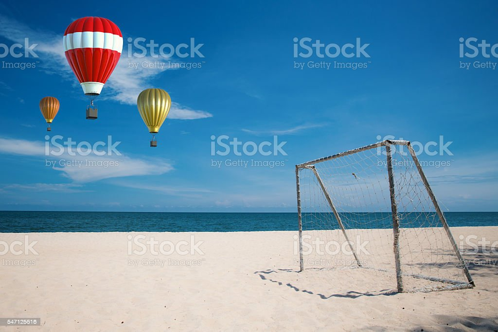 beach summer stock photo