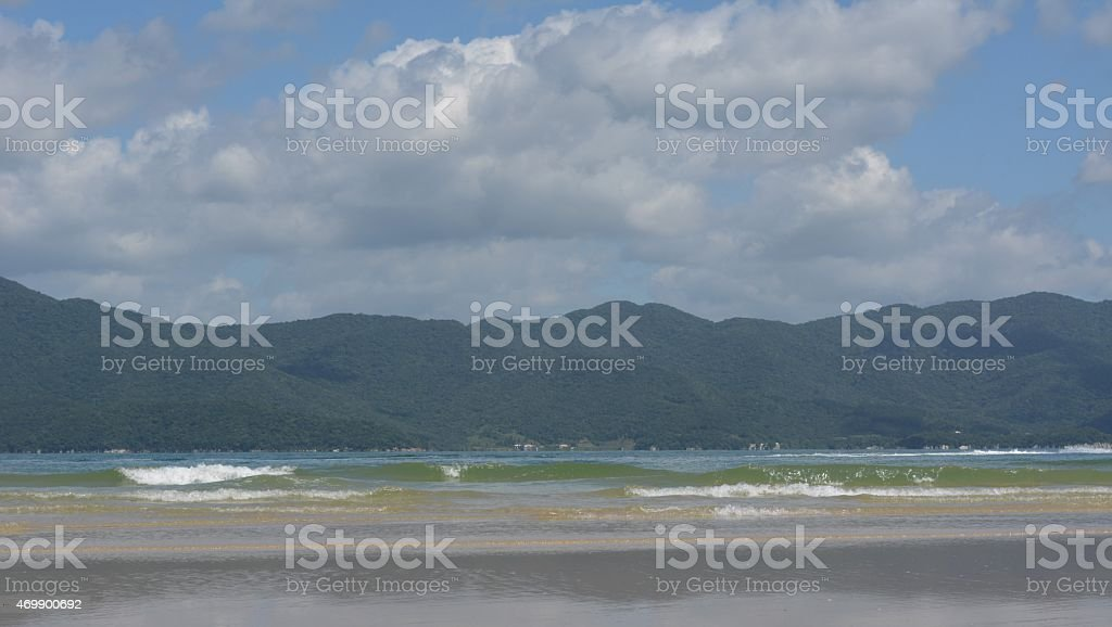 Beach, Sun and Sea stock photo