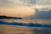 Beach sunrise - Mazunte, Mexico