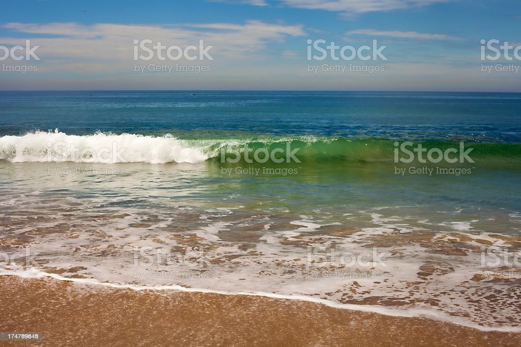 Beach- surf and sand royalty-free stock photo