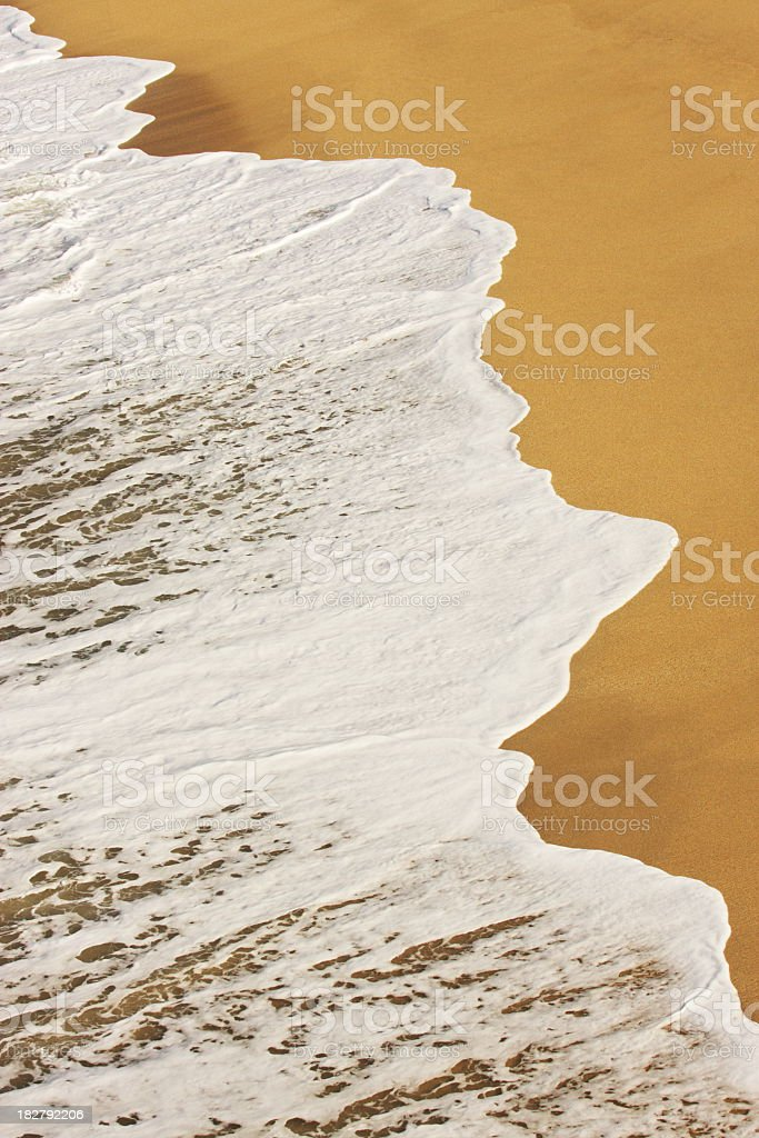 Beach Surf Wave Shoreline stock photo