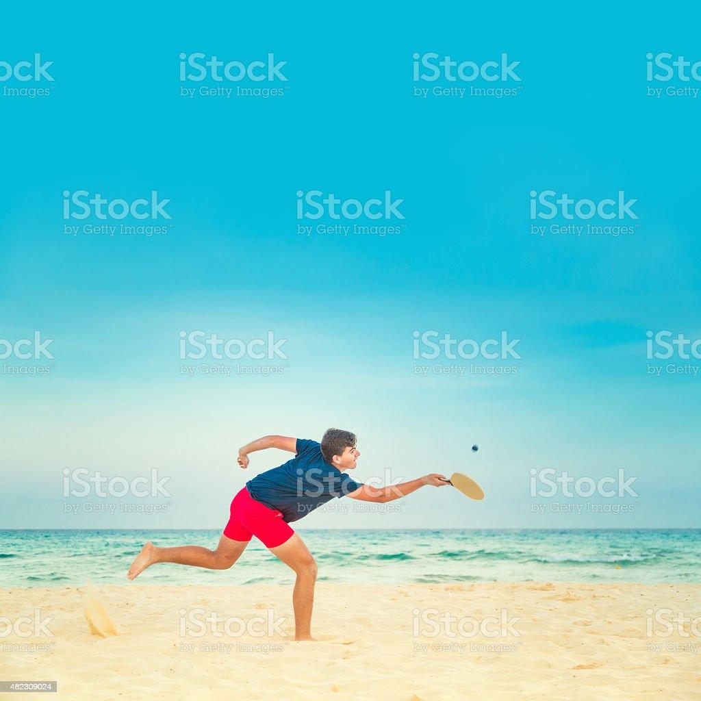 Beach Tennis stock photo