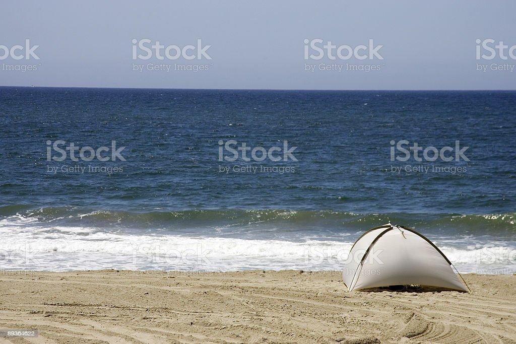 Tente de Redondo Beach, Californie photo libre de droits