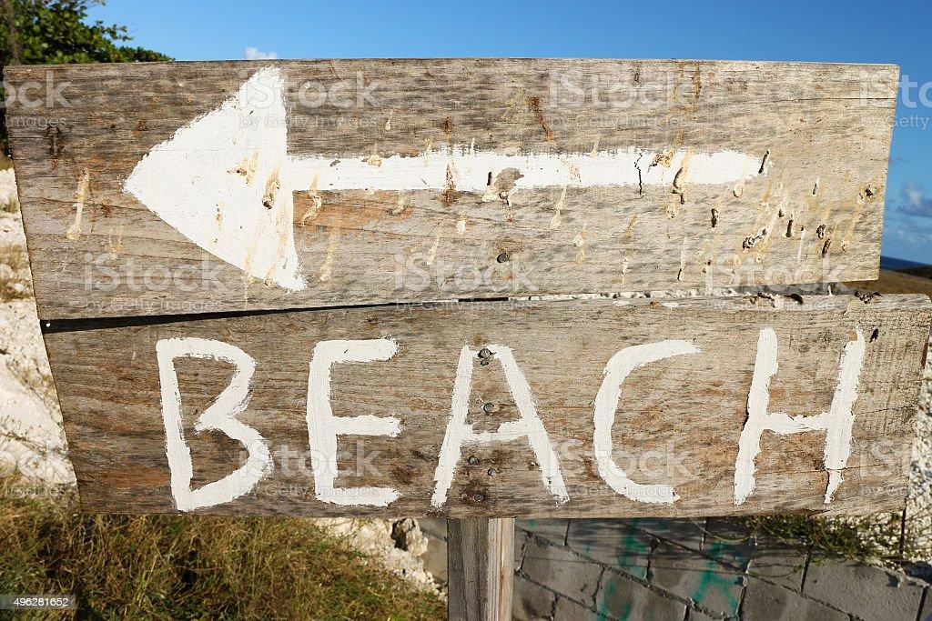 Beach Therapy. stock photo