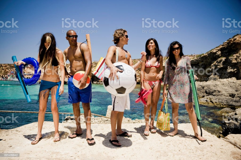 Beach Time royalty-free stock photo