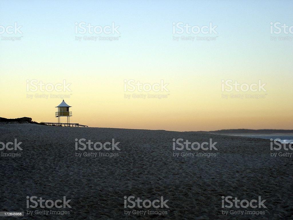 Beach Tower stock photo